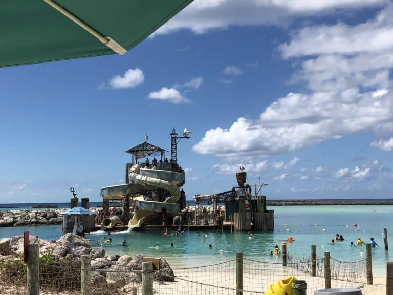Pelican Plunge at Castaway Cay