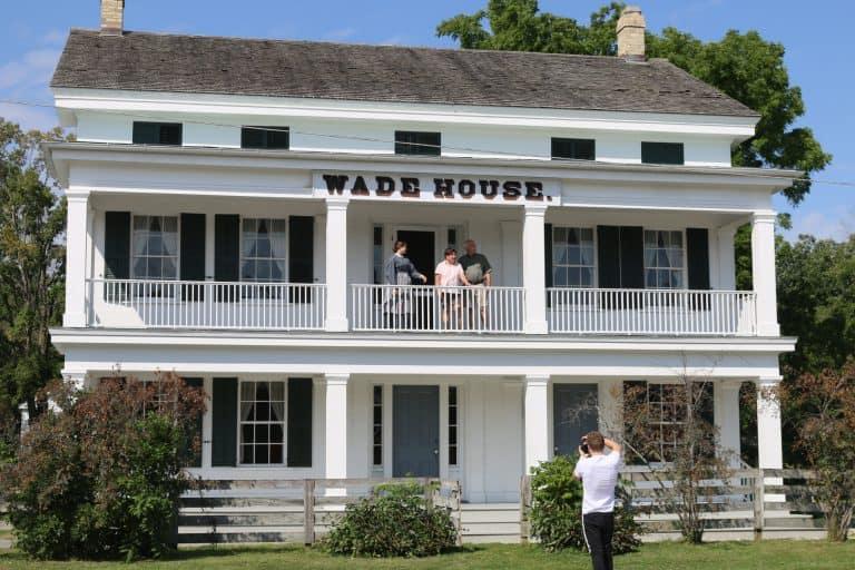 The Wade House near Elkhart Lake in Sheboygan County, WI