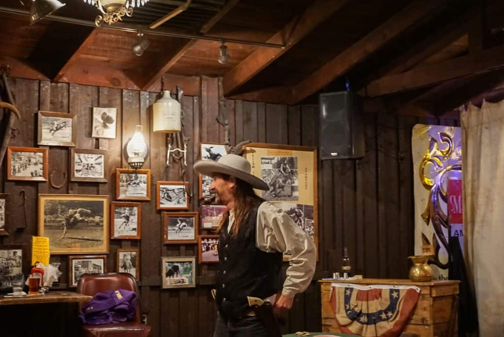 Wild Bill in Saloon #10