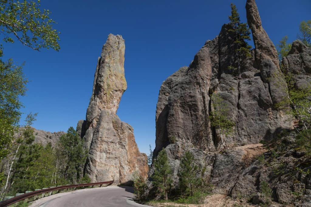 Needles Highway in Custer State Park South Dakota