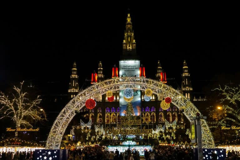 Vienna Rathaus Platz Christmas Market