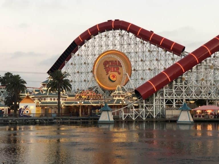 Incredicoaster at Disneyland Disney California Adventure is a great ride