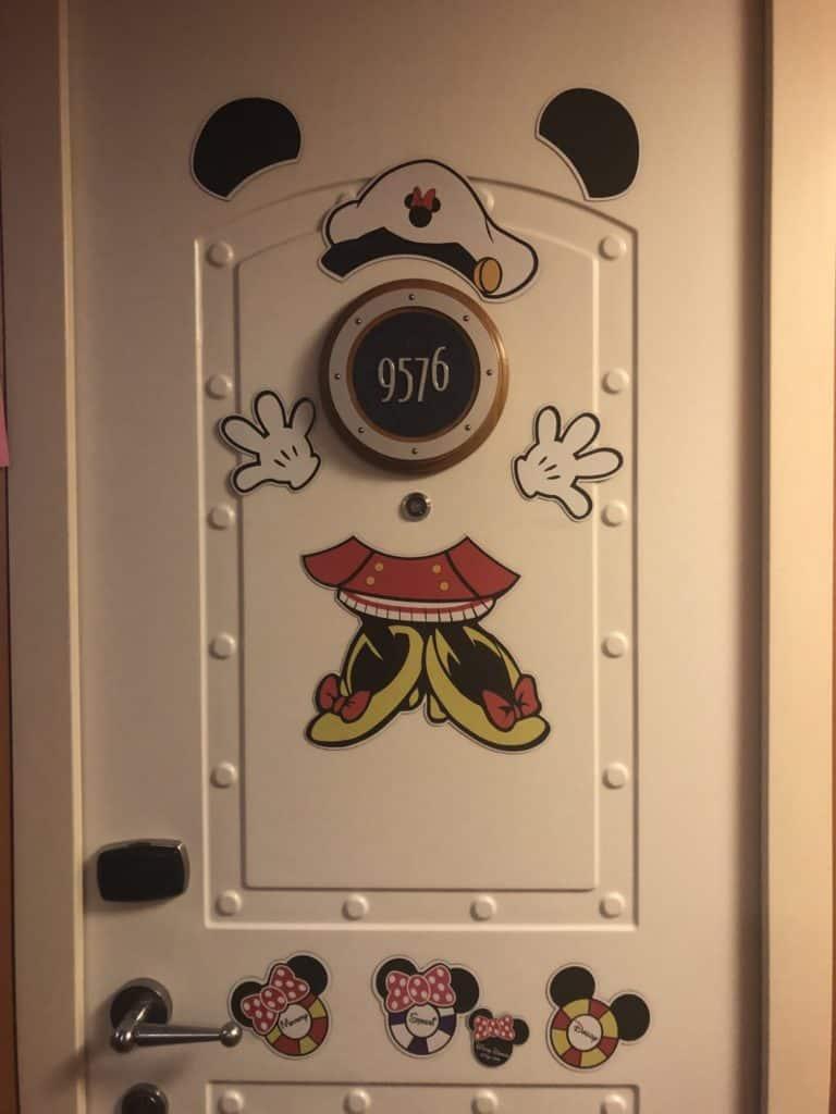 Minnie Captain Disney Cruise Door magnet
