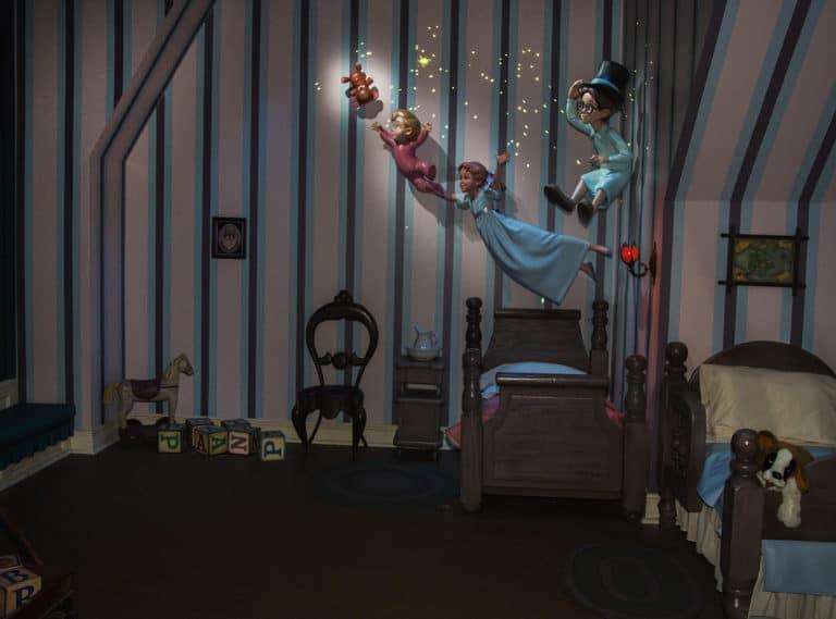 Peter Pans Flight at Disneyland