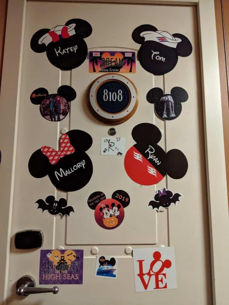Disney Cruise Door Magnets