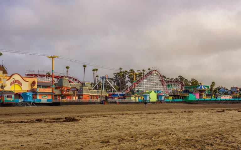 Visiting the Santa Cruz Beach Boardwalk is one of the fun things to do in Northern California