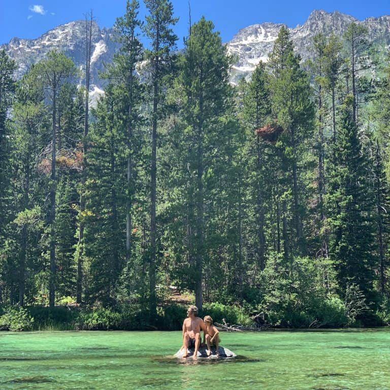 string lake is one of the things to do in Grand Teton National park
