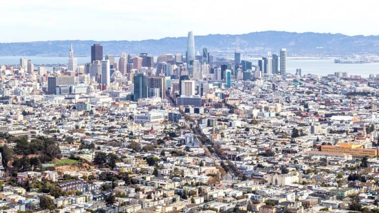Some of the best hiking in San Francisco can be found at Twin Peaks