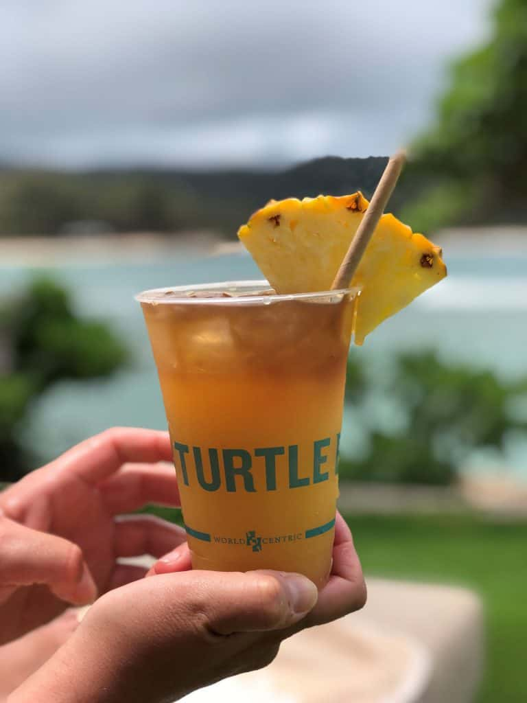 Mai tai is a classic vacation cocktail