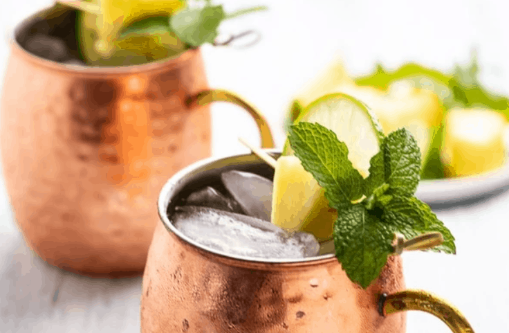 Pineapple Mexican Mule