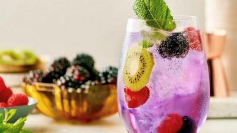 The Royal Treatment Cocktail will make you feel like you are on vacation