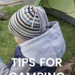Camping with a toddler or baby