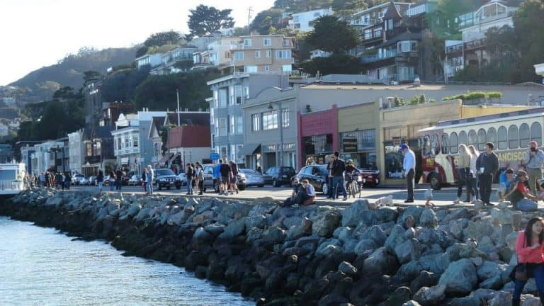 Sausalito is a great place for a day trip from San Francisco
