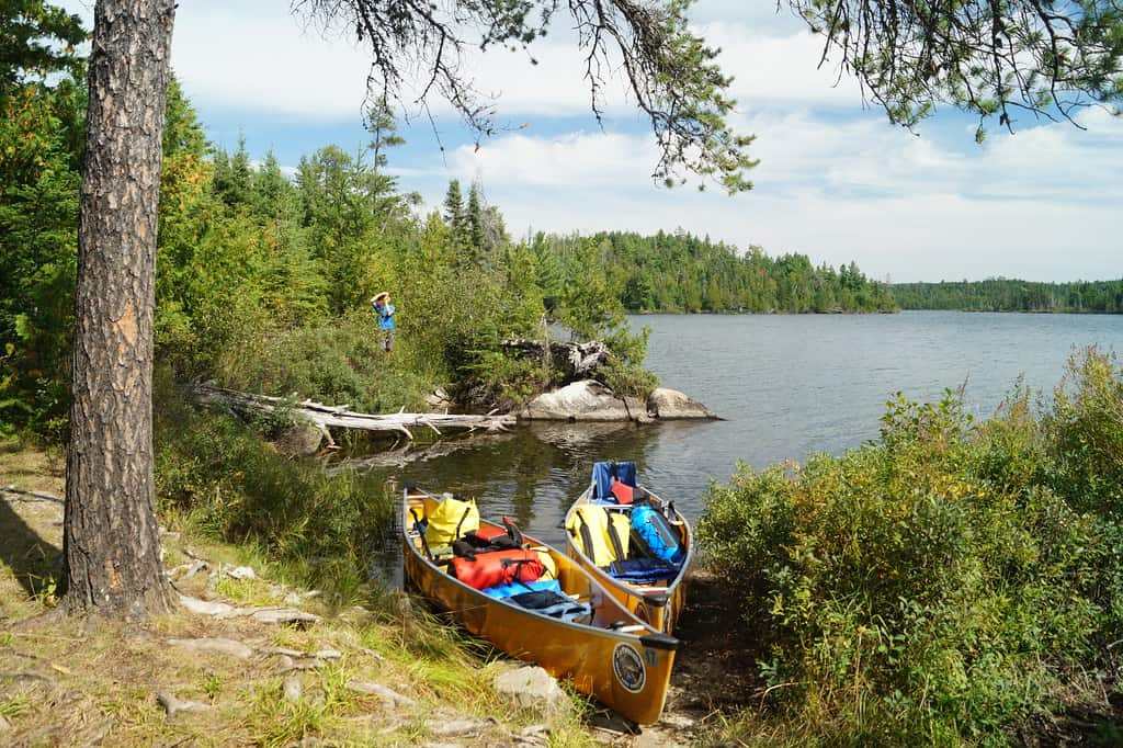 boundary waters canoe photo