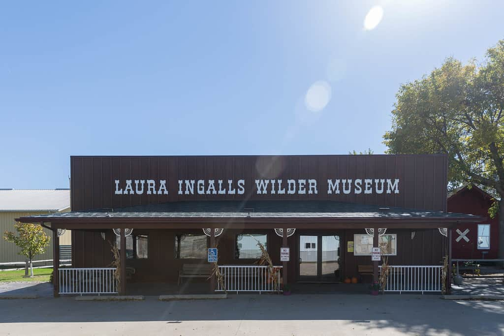 Visiting the Laura Ingalls wilder museum is one of the classic things to do in Minnesota with kids