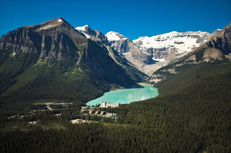 Definitely stop at Lake Louise on your Banff to Jasper drive