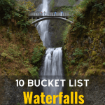 best Waterfalls in the US photo via Canva