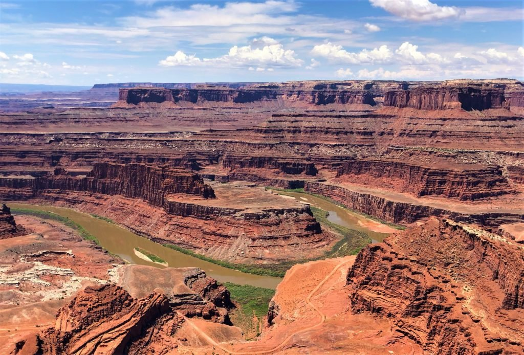 Visiting Dead Horse Point State Park is one of the great things to do in Moab with kids