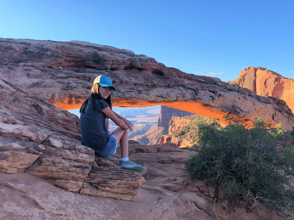 Mesa Arch in Canyonlands National Park, a great place to visit near Moab