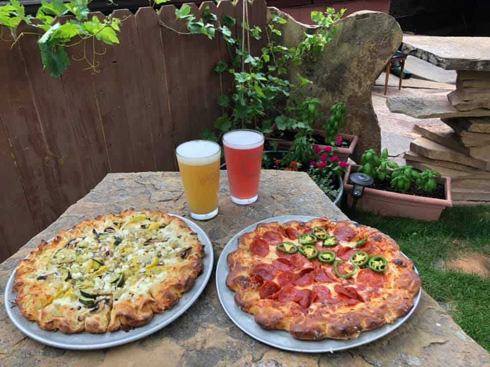 Zion Pizza and Noodle is a great place to eat on your Utah National Parks Road Trip