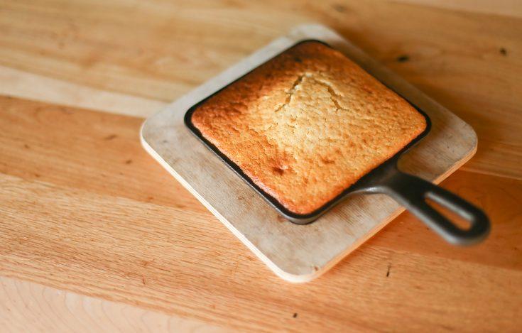 Cat Iron Cornbread Recipe