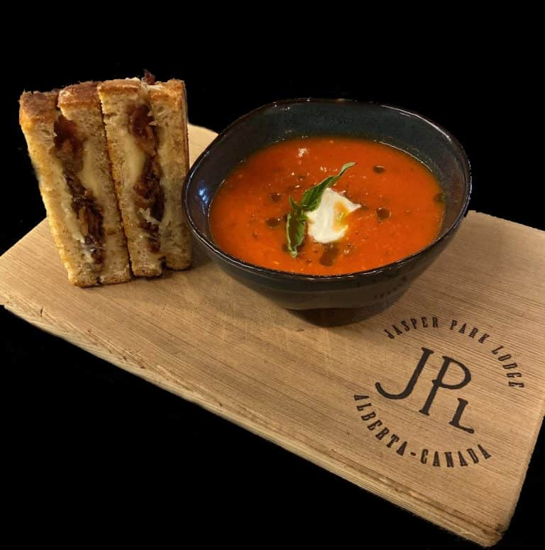 Tomato Soup and Duck Grilled Cheese Sandwich Recipe