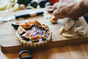fig jam brie walnut tart recipe