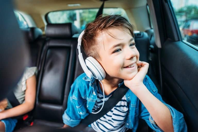 Best travel activities for kids include making music playlists