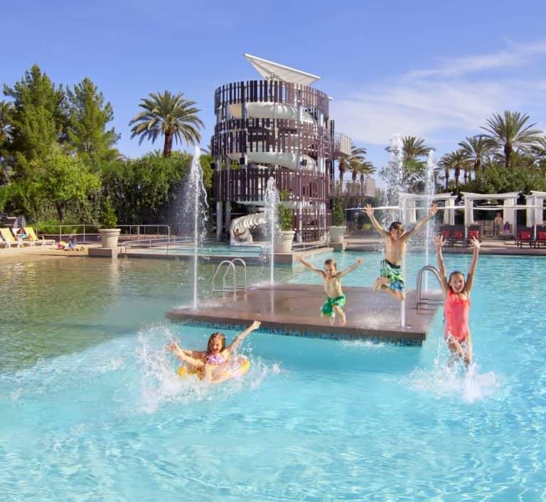 Pool at Hyatt Regency Scottsdale Photo Credit Visit PhoenixHyatt Regency Scottsdale Resort & Spa at Gainey Ranch