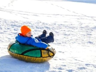 Snow Tubing Toddlers East Coast