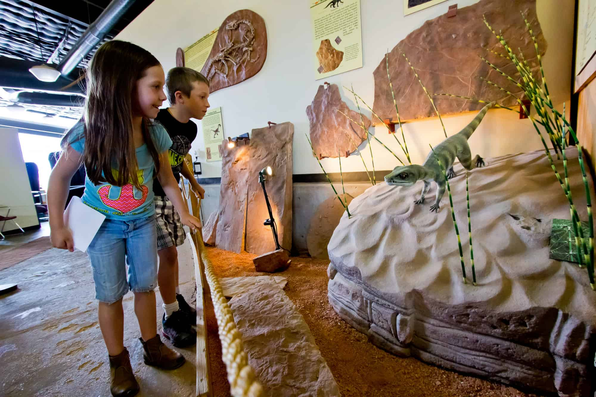 St. George Dinosaur Discovery Site is one of the best things to do in St George with kids