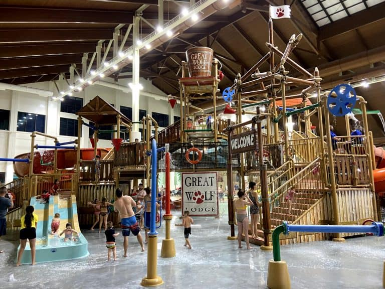 Things to do in scottsdale with kids Talking Stick Treehouse at Great Wolf Lodge, Scottsdale Photo by Tiffany Vaughn