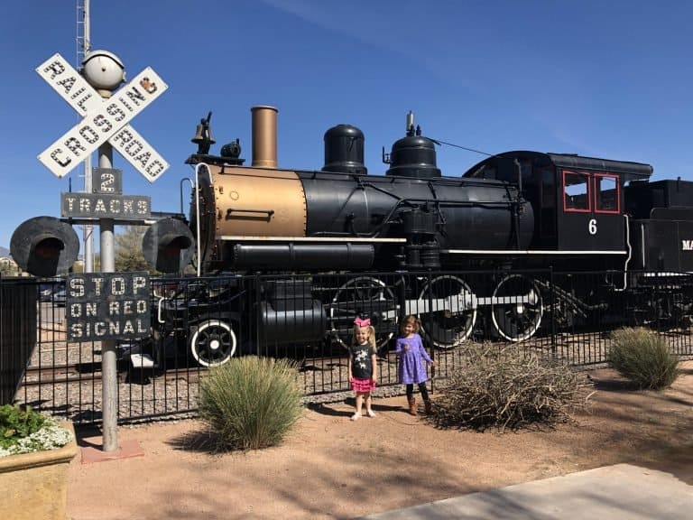 mccormick stillman railroad park is one of the best places to visit in Scottsdale with kids