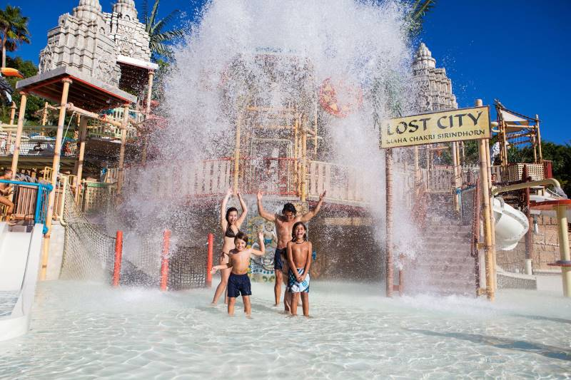 Siam Park in Tenerife, Canary Islands is the best water park in the world