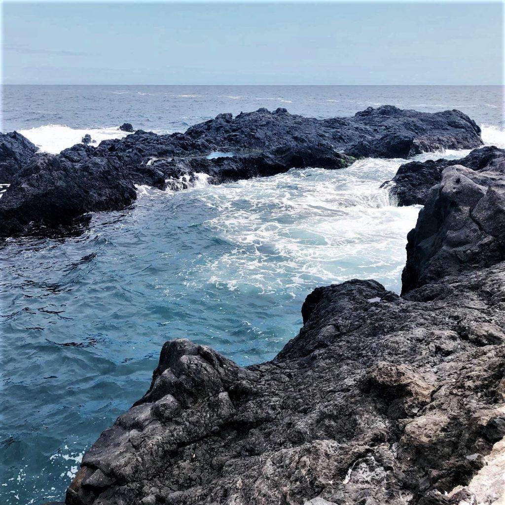 Tenerife lava pool