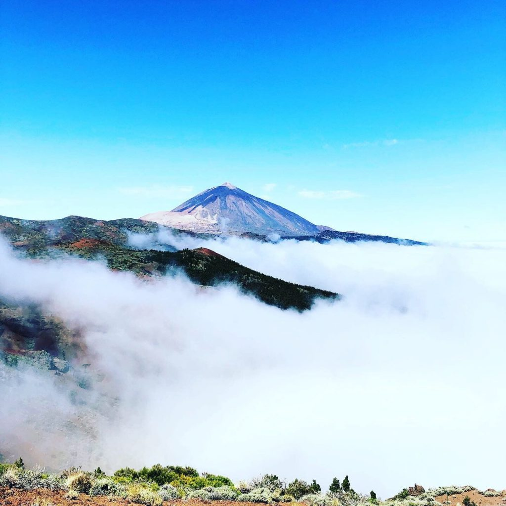 Things to to in Tenerife, Canary Islands include visiting Mount Tiede.