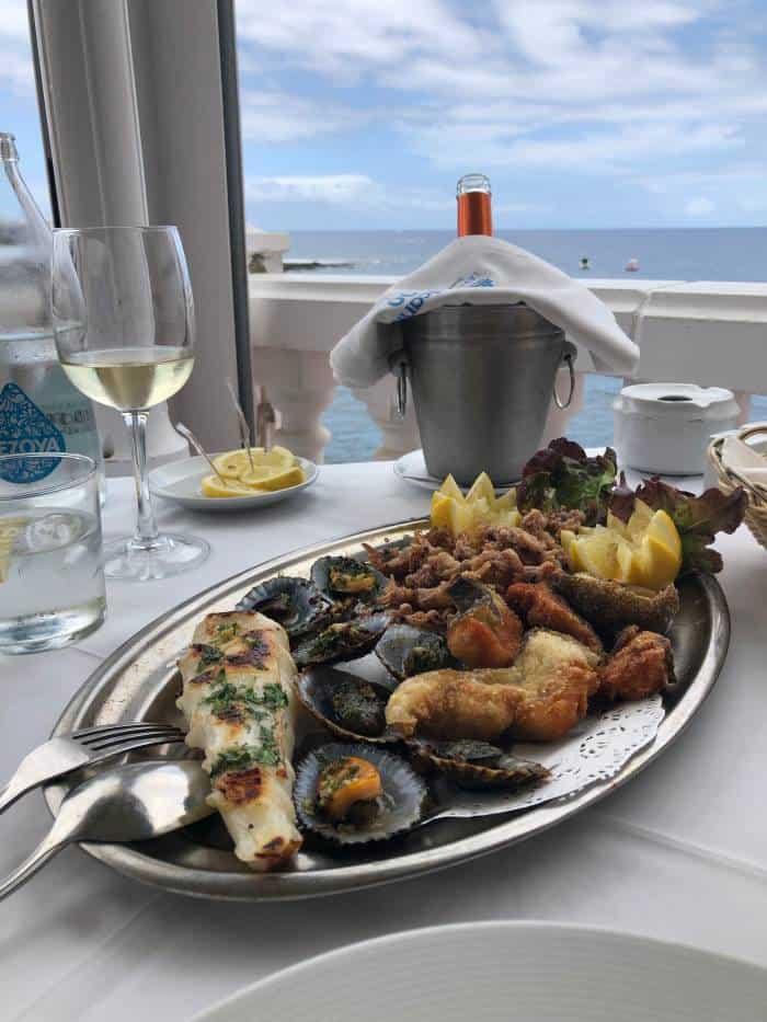 Fresh Seafood in Tenerife
