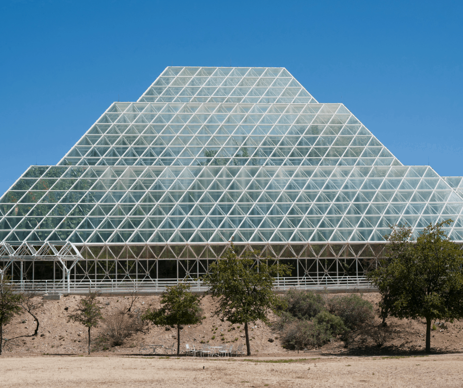 Biosphere 2 is a great daytrip from Tucson, Arizona