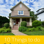 House Checklist Before Vacation