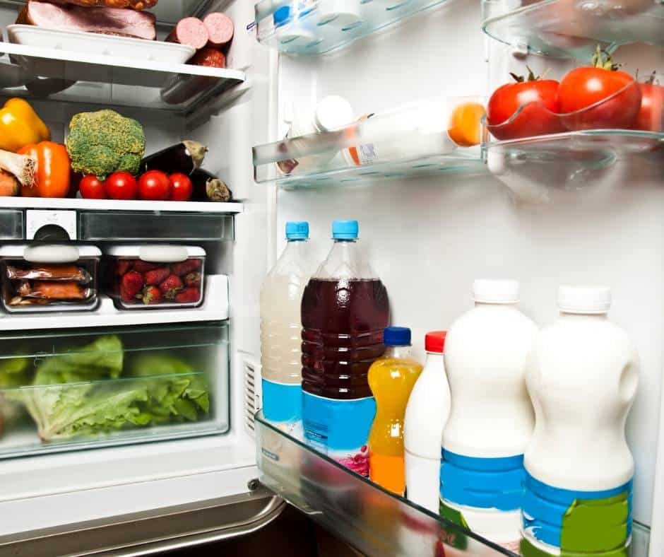 Throw away perishable food before going on vacation