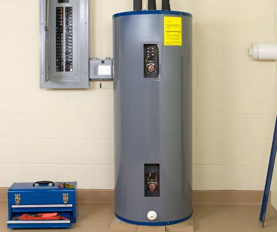 Set Your water Heater to vacation Mode before going on a long trip