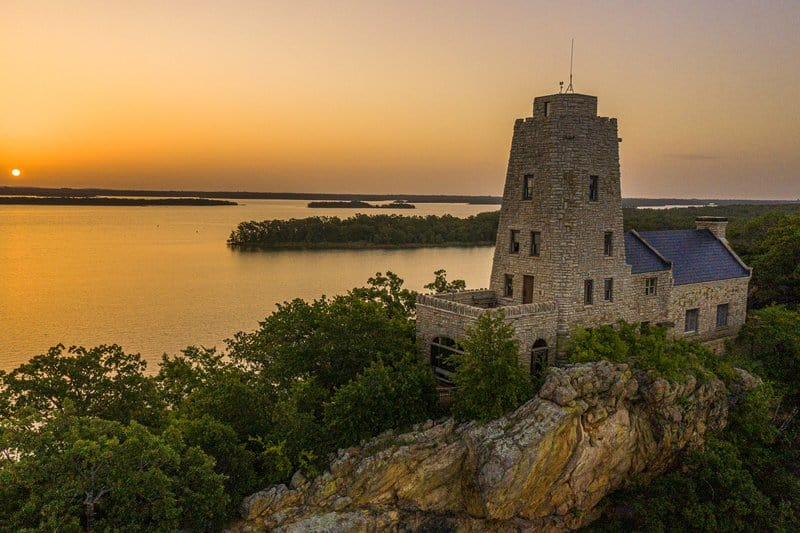Lake Murray State Park in Oklahoma is one of the great road trips from Dallas