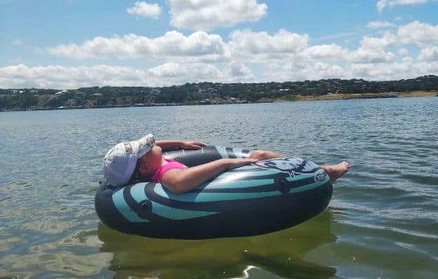 Lake Travis is an easy day trip from Austin
