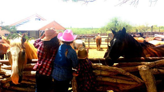 Cowgirls in Training at Tanque Verde Ranch  in Tucson
