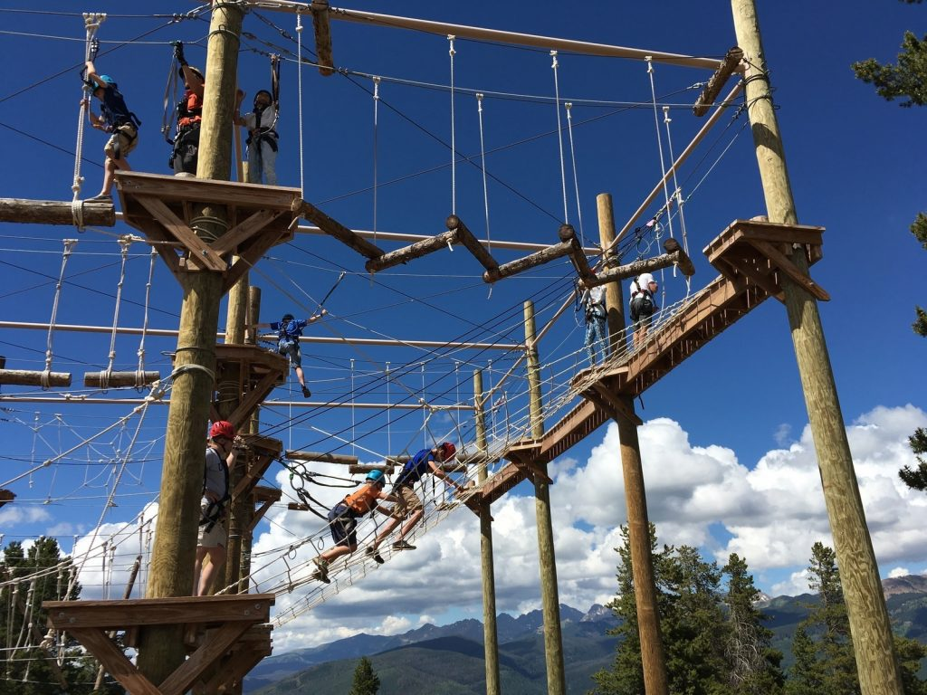 Epic Discovery Ropes course in Vail