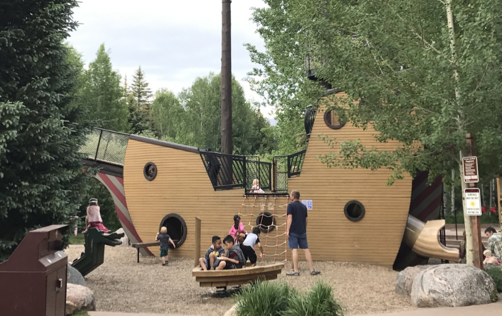 Pirate Ship Playground Vail