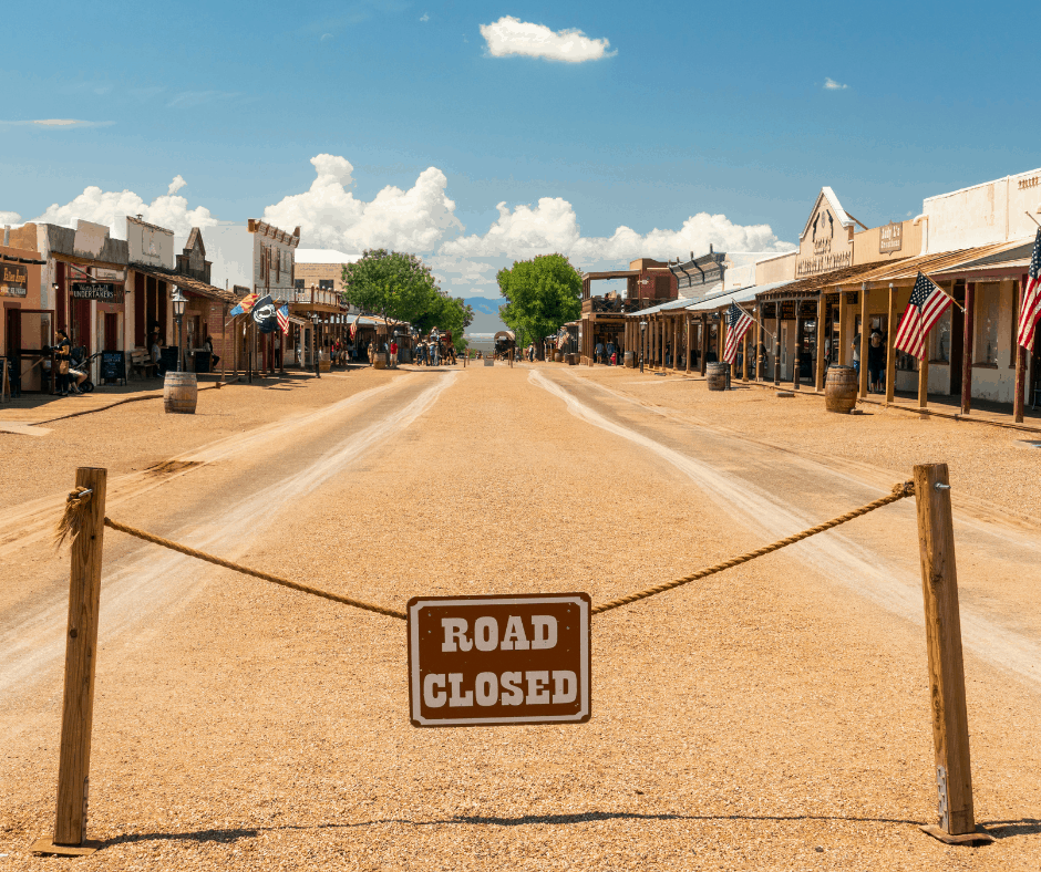 Tombstone Arizona is a great daytrip from Tucson
