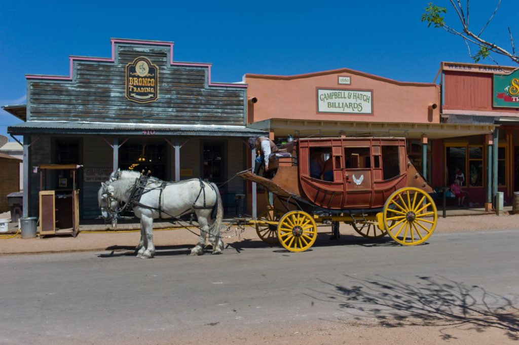 tombstone stage coach by flickr andypiper