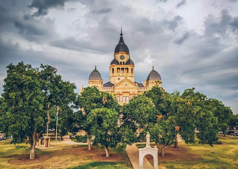 Dentin Texas Courthouse
