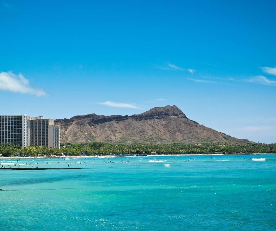 Diamond Head Hawaii family vacation